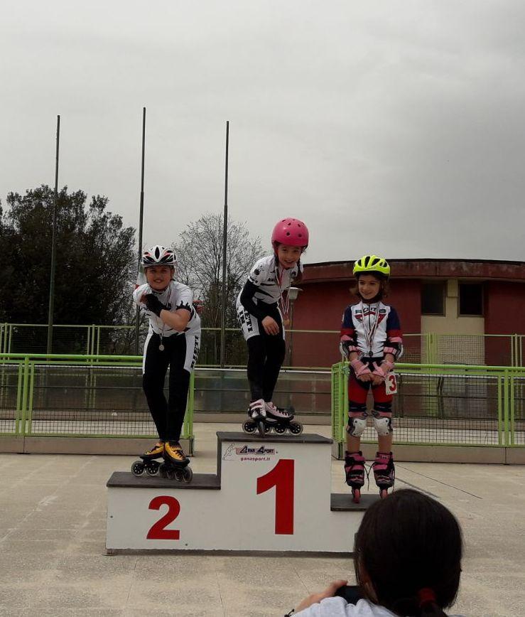 Campionati regionali 2018 podio doppio