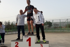 Campionati Regionali 2018 pista podio damiano