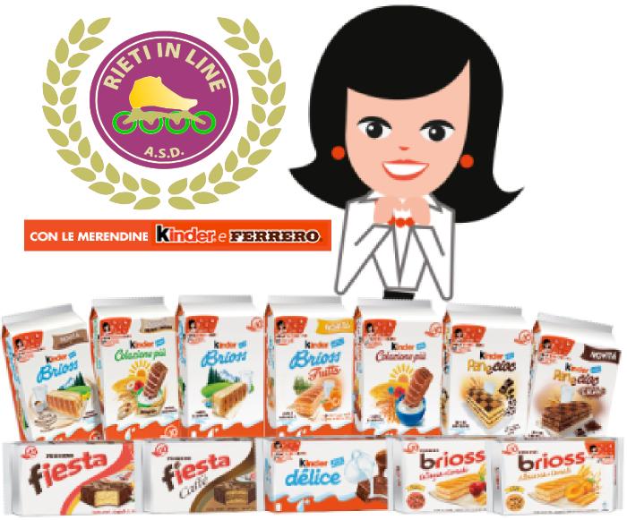 """Rieti in Line con """"Kinder e Ferrero"""""""