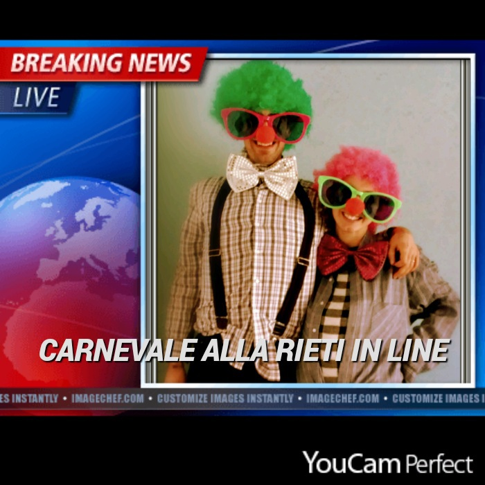 Carnevale Rieti in Line 2016