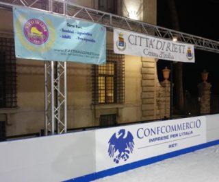 pattinaggio rieti ghiaccio