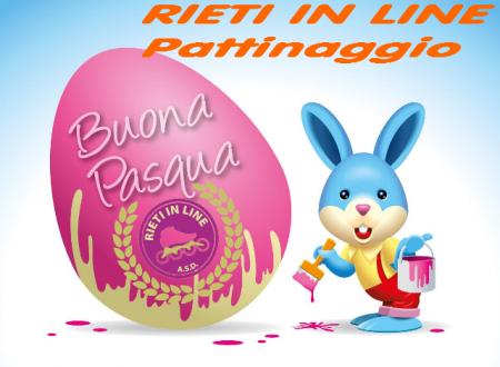 Buona Pasqua dalla Rieti in Line Pattinaggio