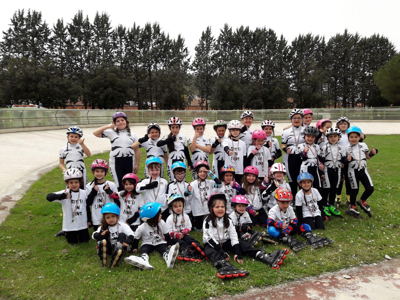 Campionati Regionali 2018 Pista Rieti Pattinaggio Corsa